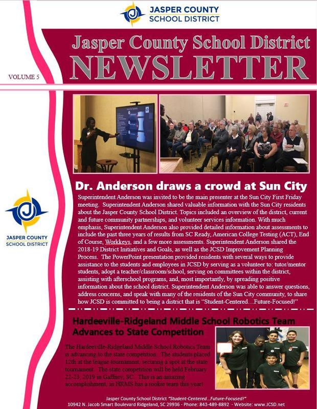 Newsletter Volume 5