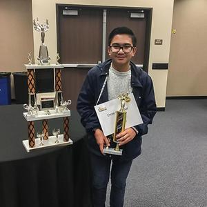 Hemet Unified 42nd Annual Spelling Bee 1st Place Winner