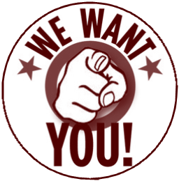 We want you logo