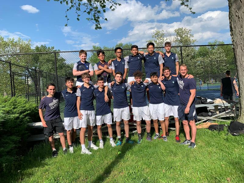 Maspeth High School Tennis In PSAL's Final Four !! Featured Photo