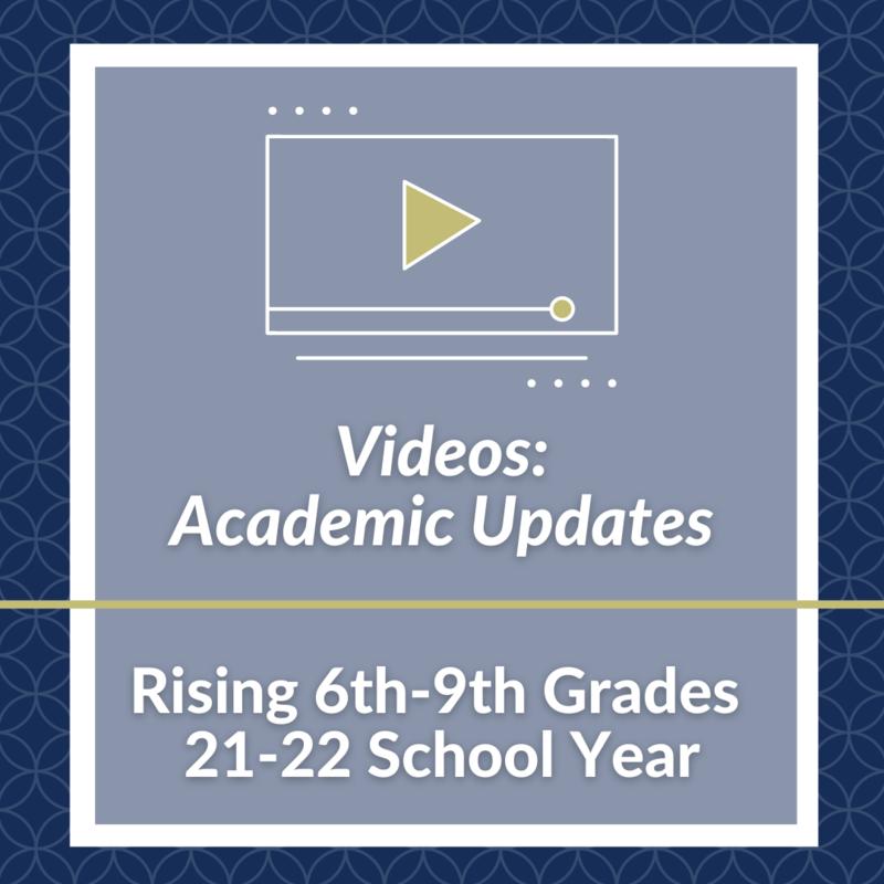 VIDEO: Academic Updates Featured Photo
