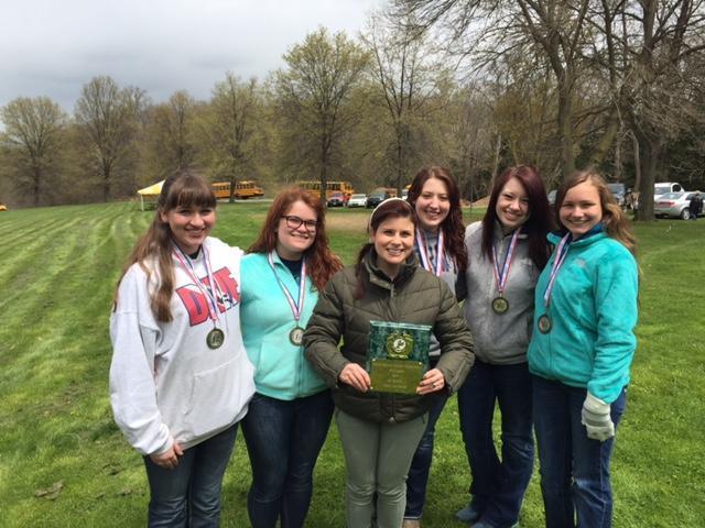 1st Place 2015 Envirothon Team