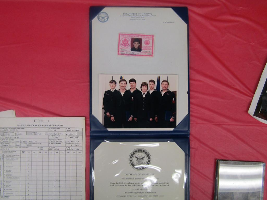 dr. williams naval diplomas and records