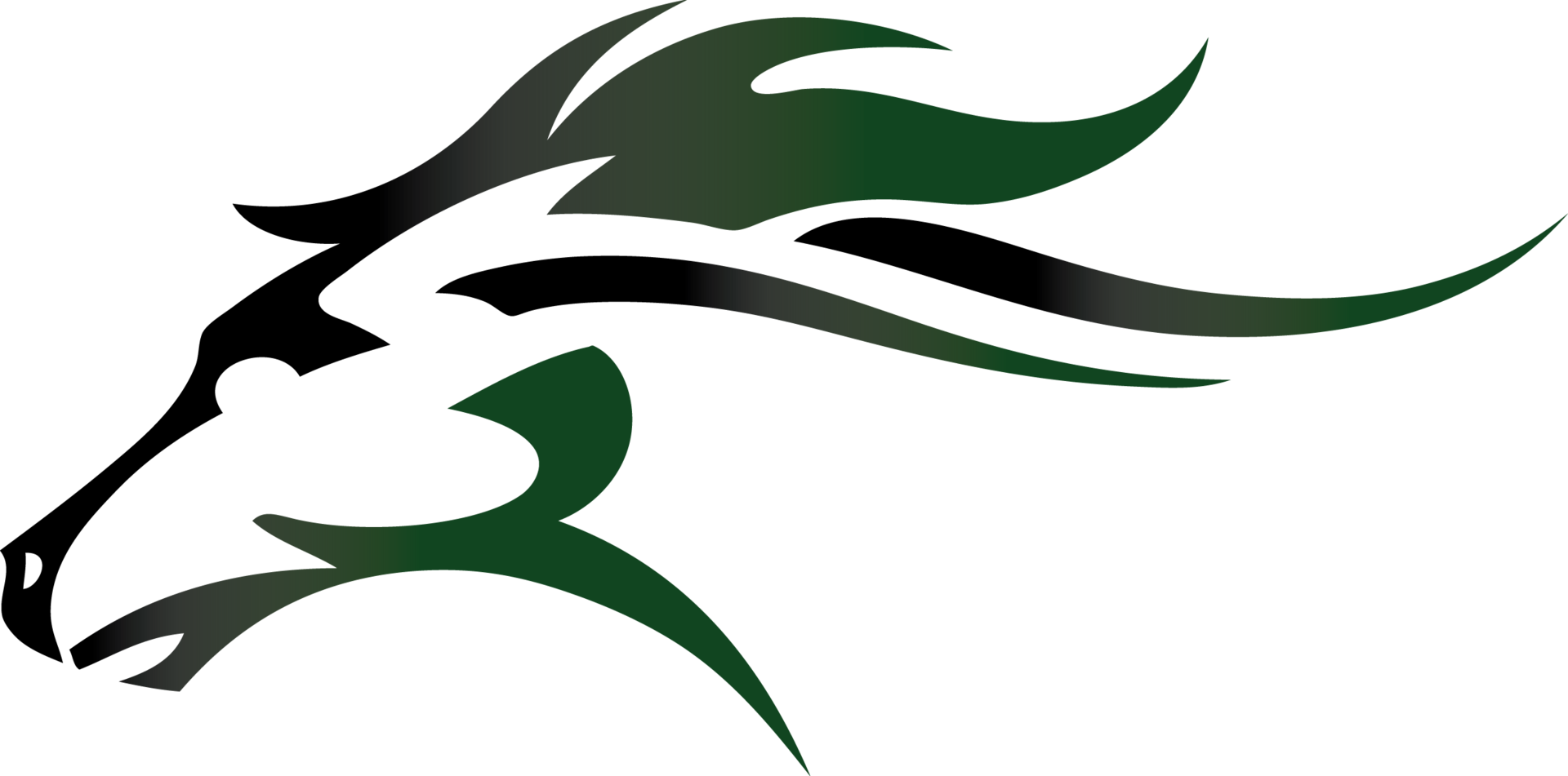 Mainland High School Mustang Logo