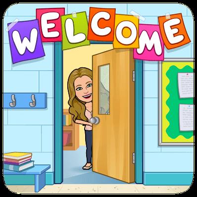 welcome to school bitmoji