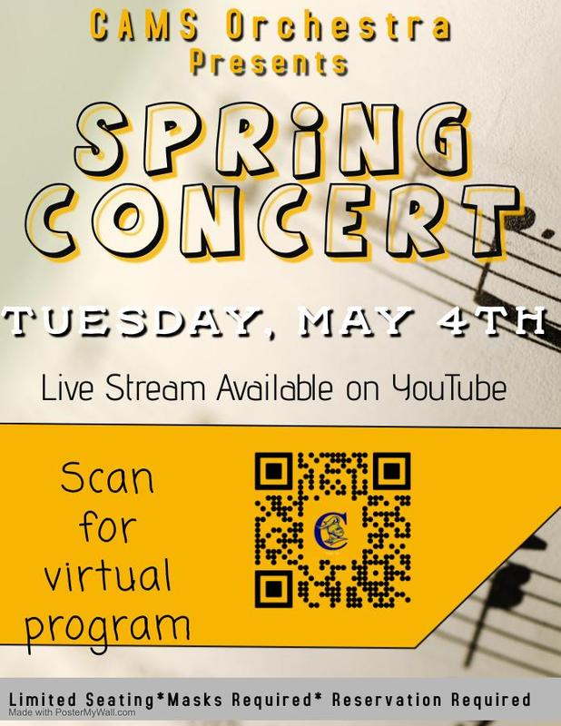 CAMS Orchestra Spring Concert Featured Photo