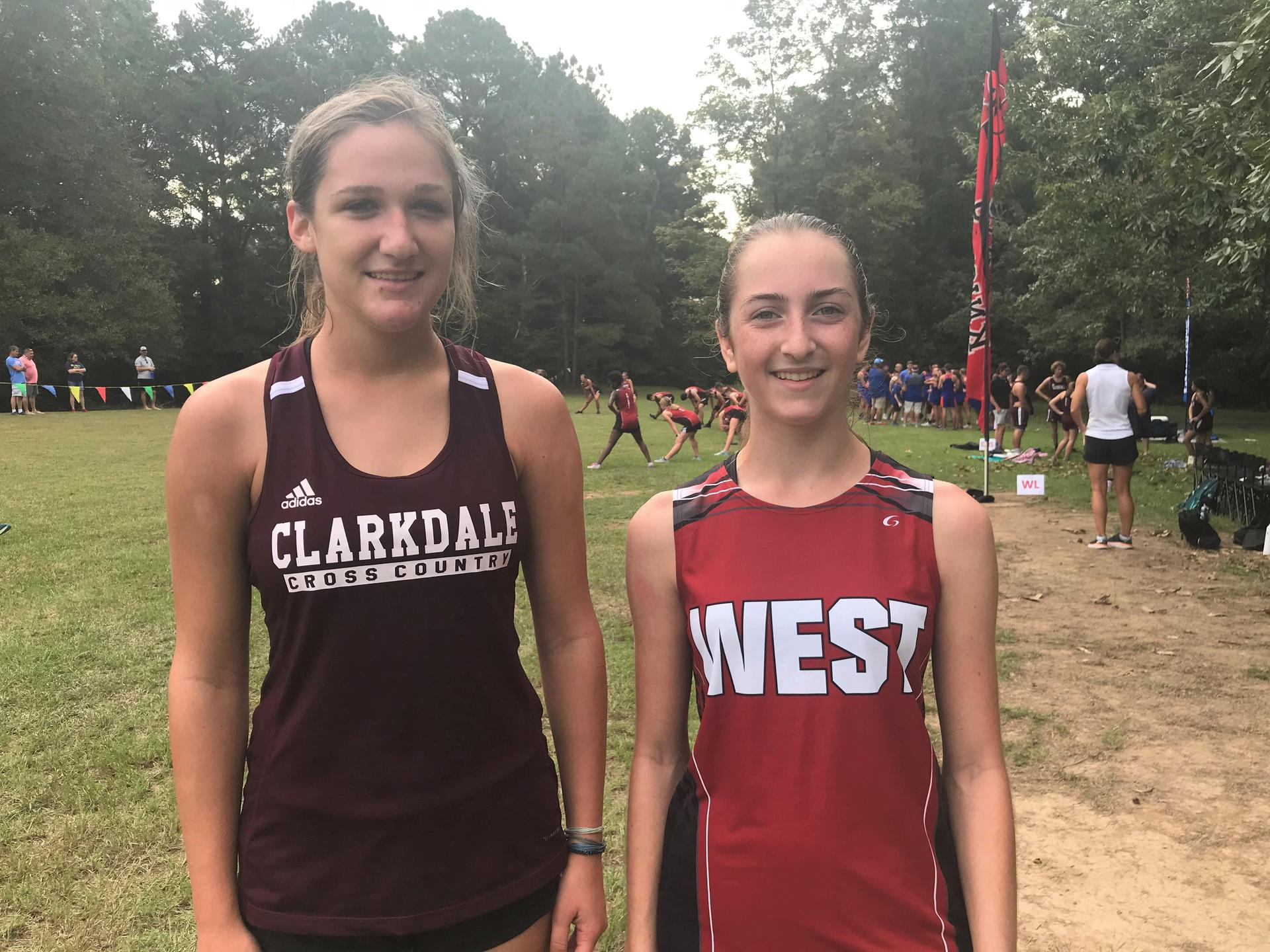 Clarkdale and West Lauderdale Cross Country Runners