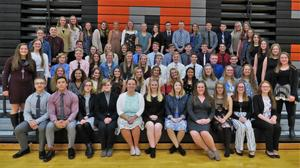TKHS inducted 68 new members into the National Honor Society Nov. 4.