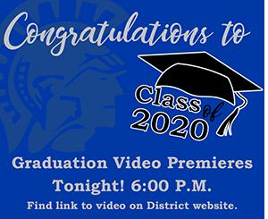 Graduation Video Announcement Image