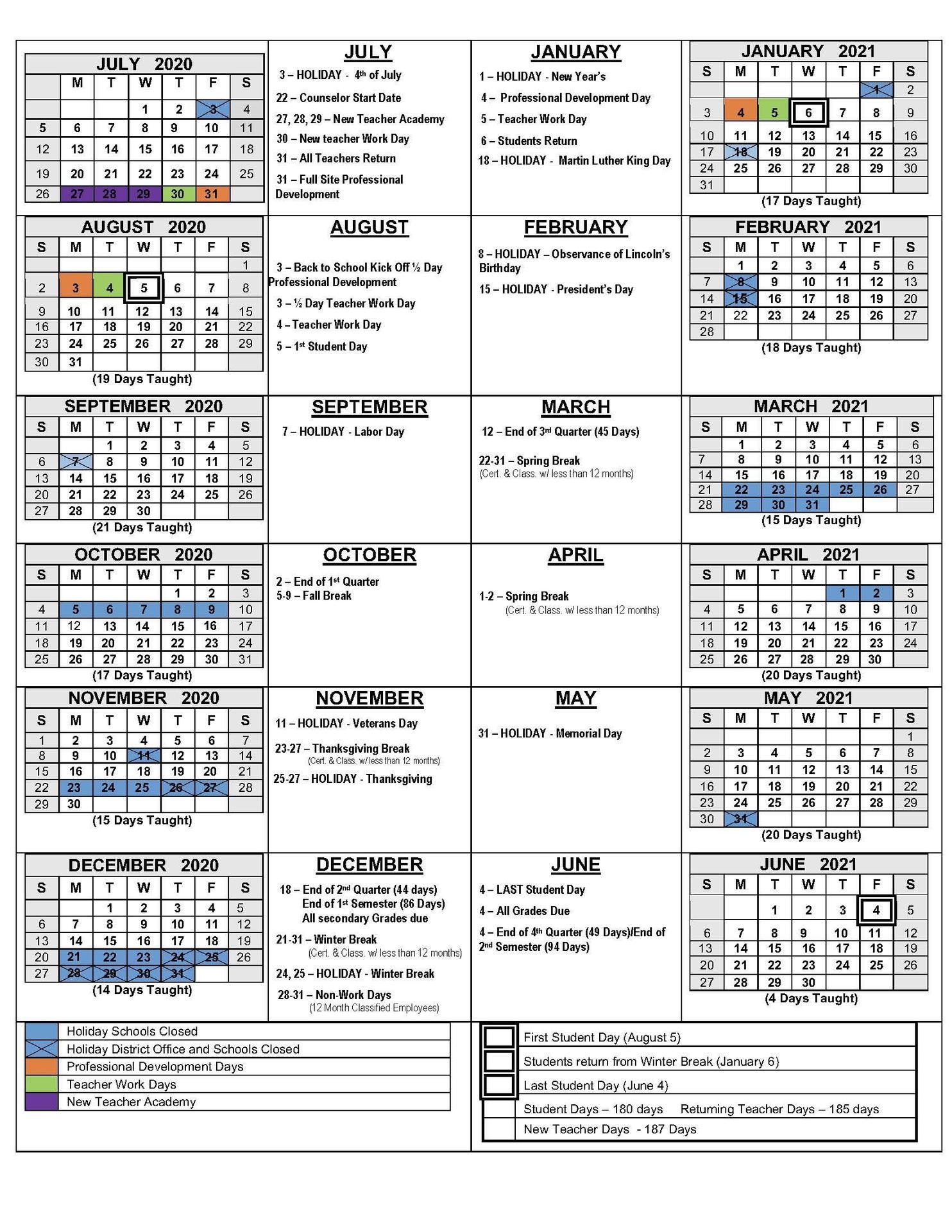 Uc Santa Cruz Academic Calendar 2021-22 2020 21 School Calendars – Academic Calendars – Monterey Peninsula
