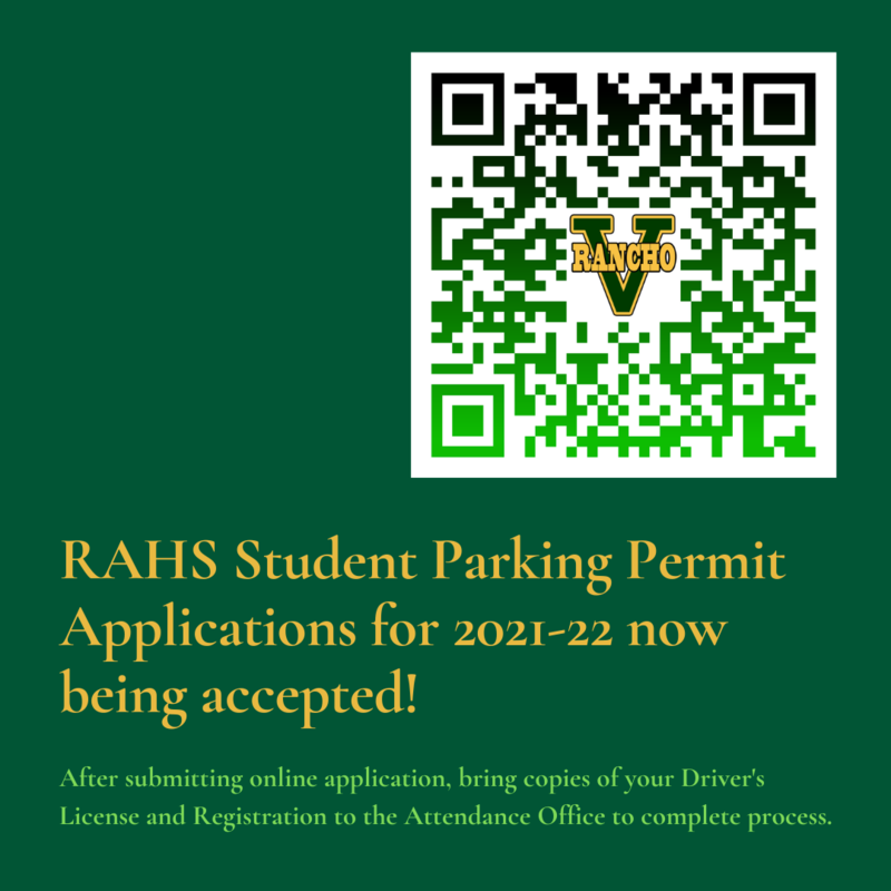 Student Parking Permit Applications Now Open! Featured Photo
