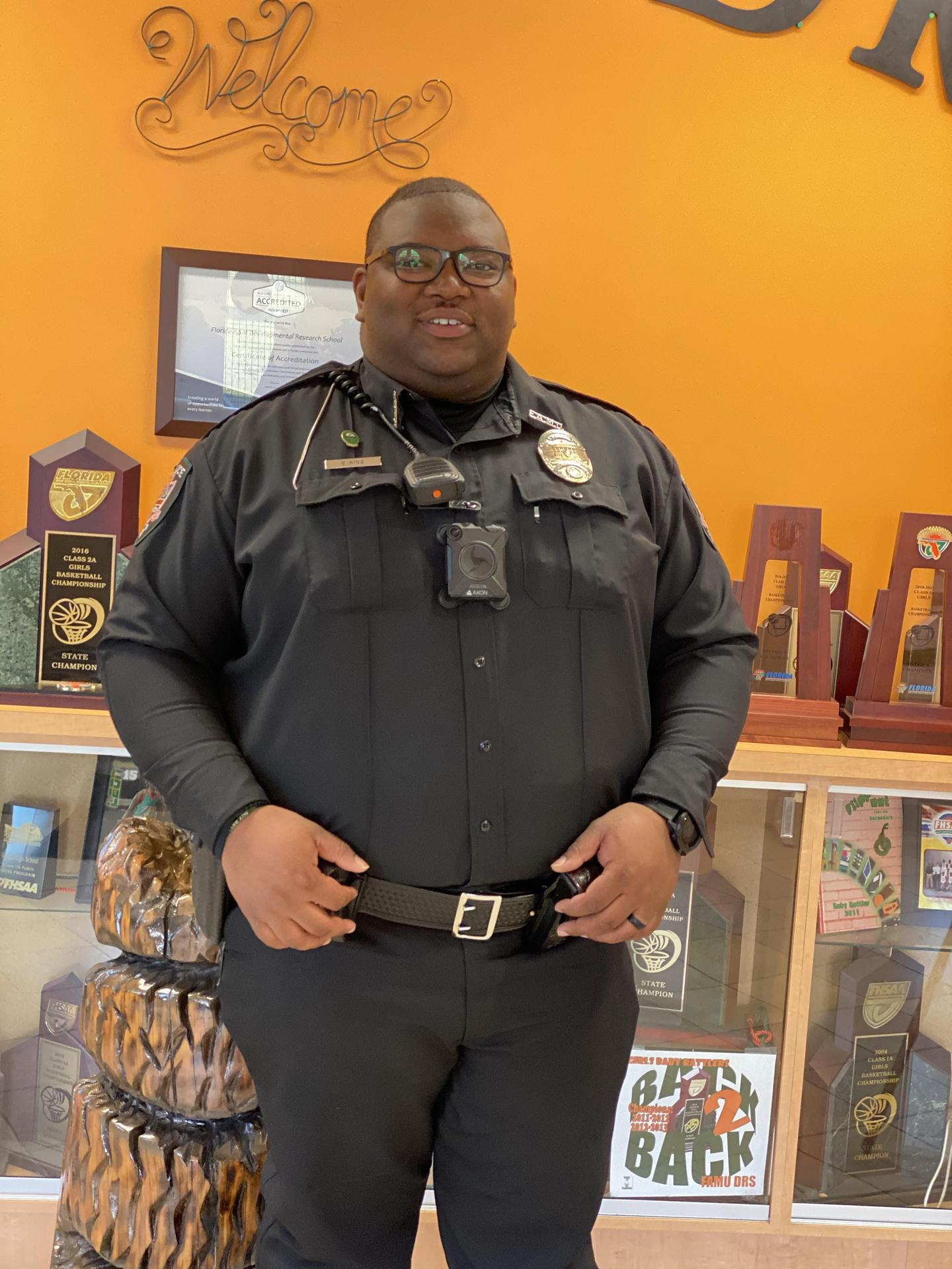 Officer King, SRO