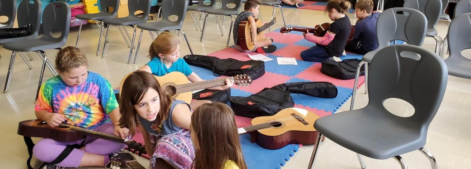 guitar club fun!