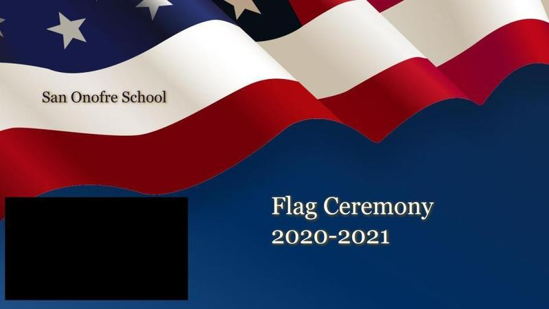 October Flag Ceremony Featured Photo