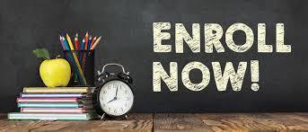2021-22 School Year - Enroll Now! Thumbnail Image