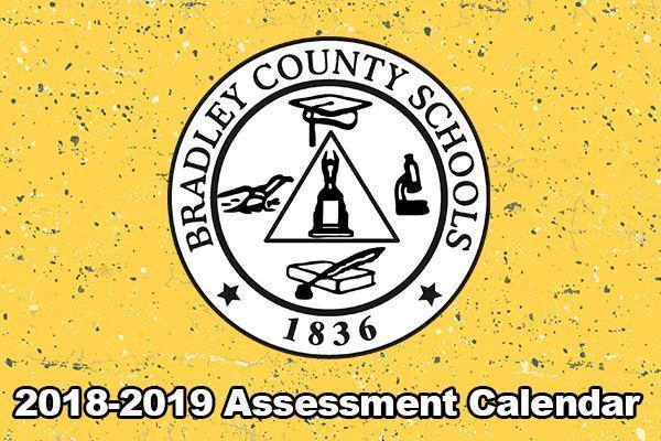 2018-2019 Assessment Calendar
