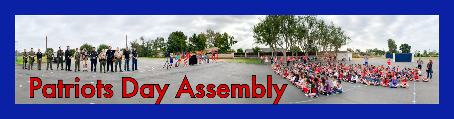 patriots Day Assembly