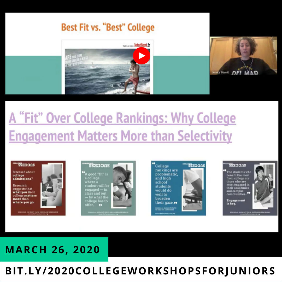 image of march 26, 2020 college workshop for juniors1