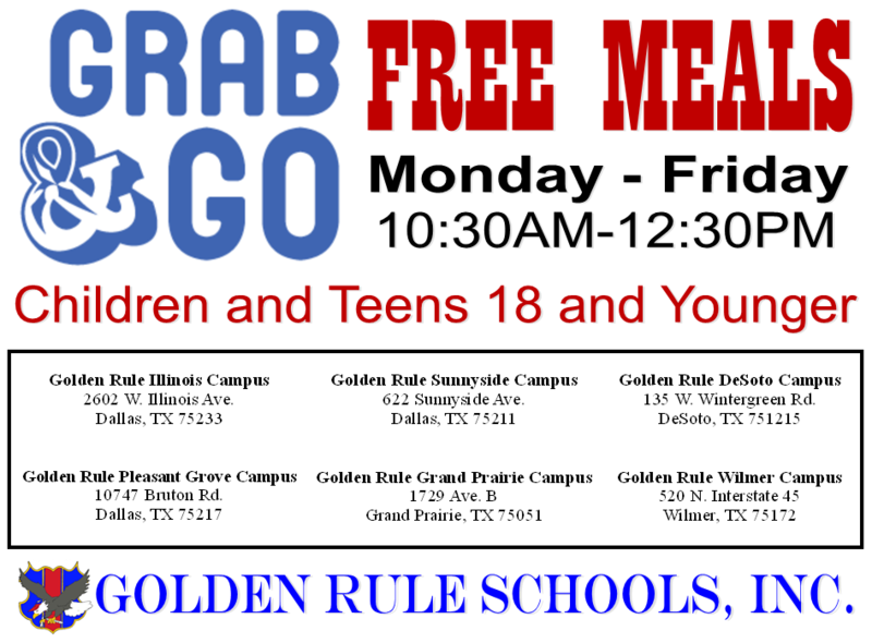 FREE MEALS at our Campuses Featured Photo
