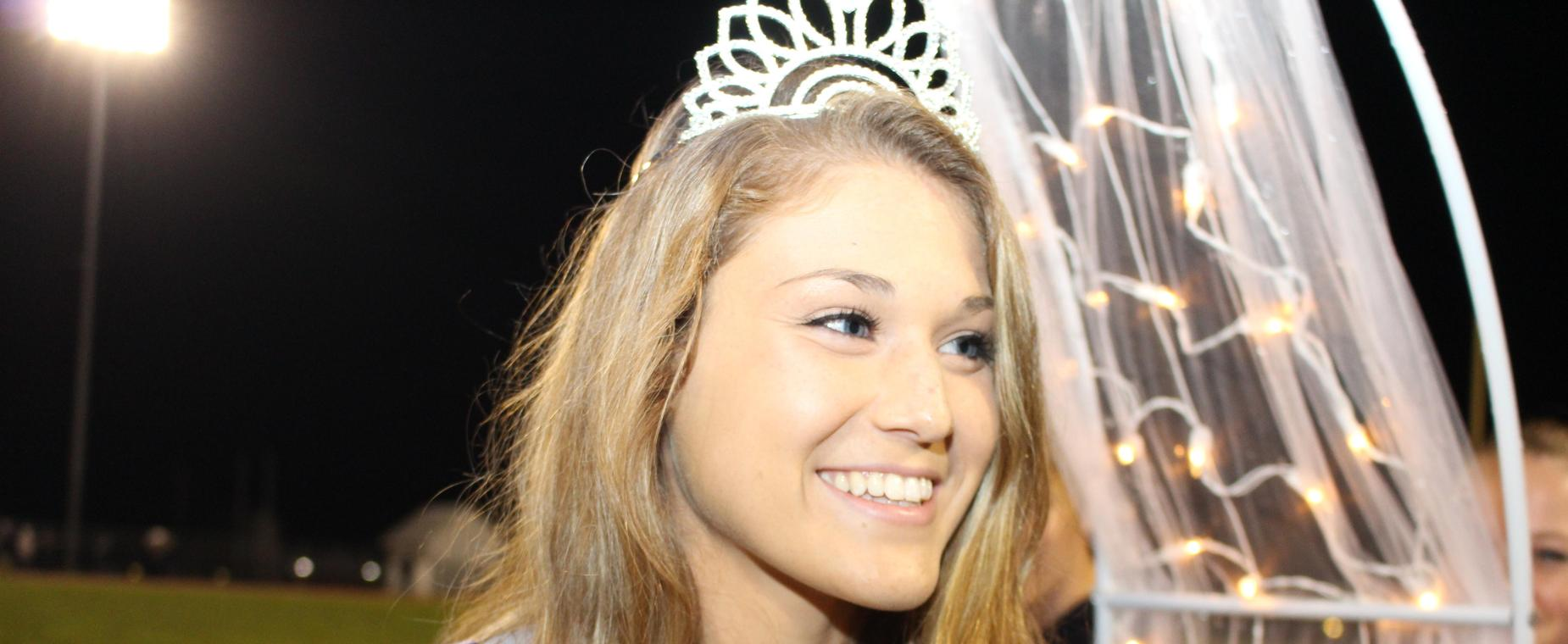 Homecoming Queen Abby Martin