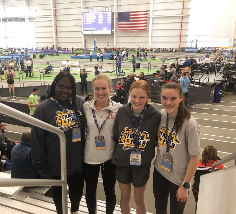 Winter Track and Field Team Runs in NYS Federation Champs Featured Photo