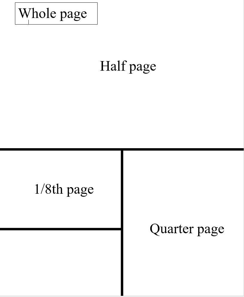 8th Grade tribute format