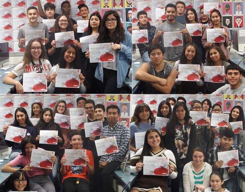 Kennedy Students Become Certified in Adobe Photoshop Featured Photo