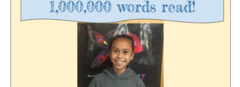 I read 1,000,000 words!