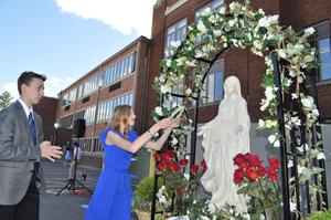 Eucharistic Procession and May Crowning Featured Photo
