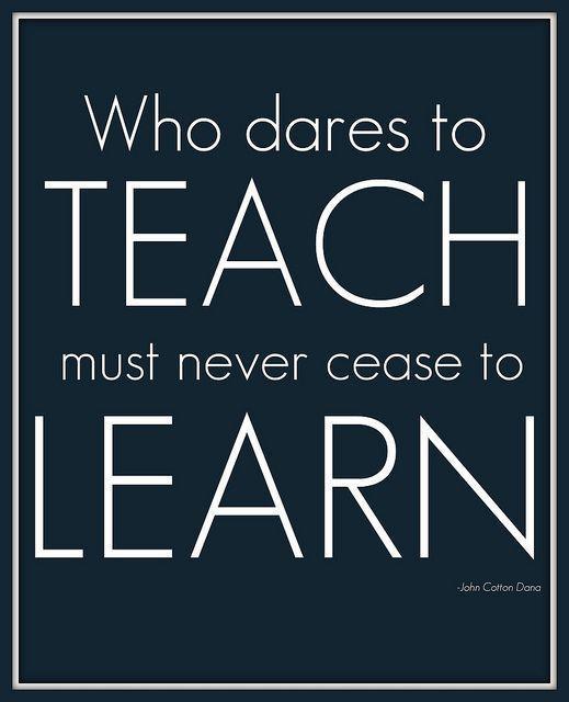 dare to teach