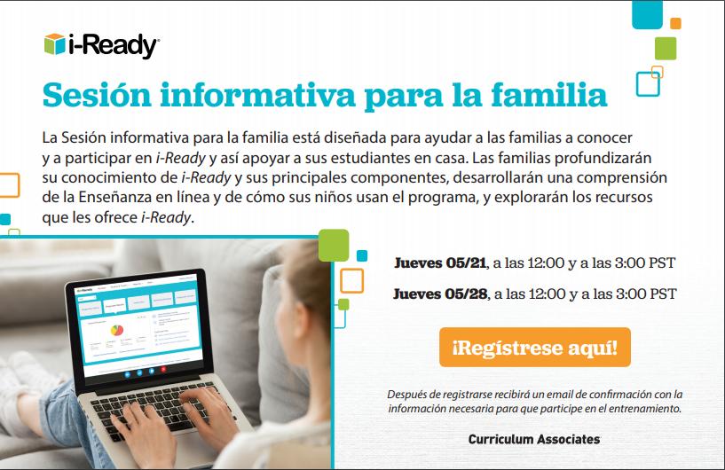 may webinar announcement spanish