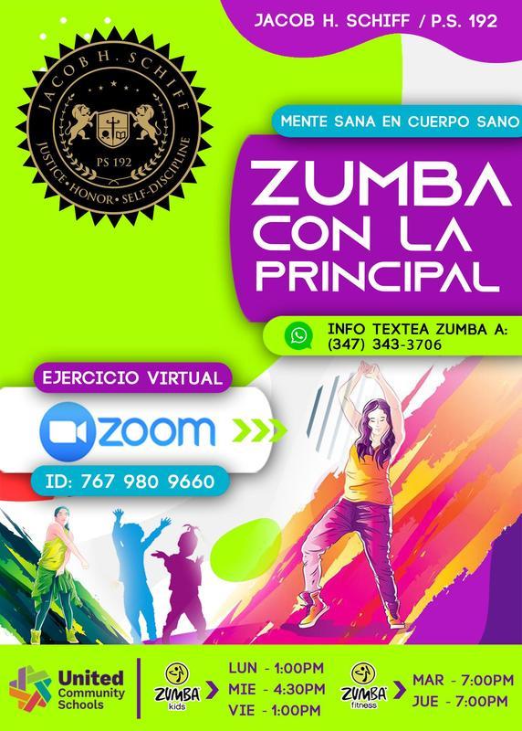 Zumba Flyer Spanish