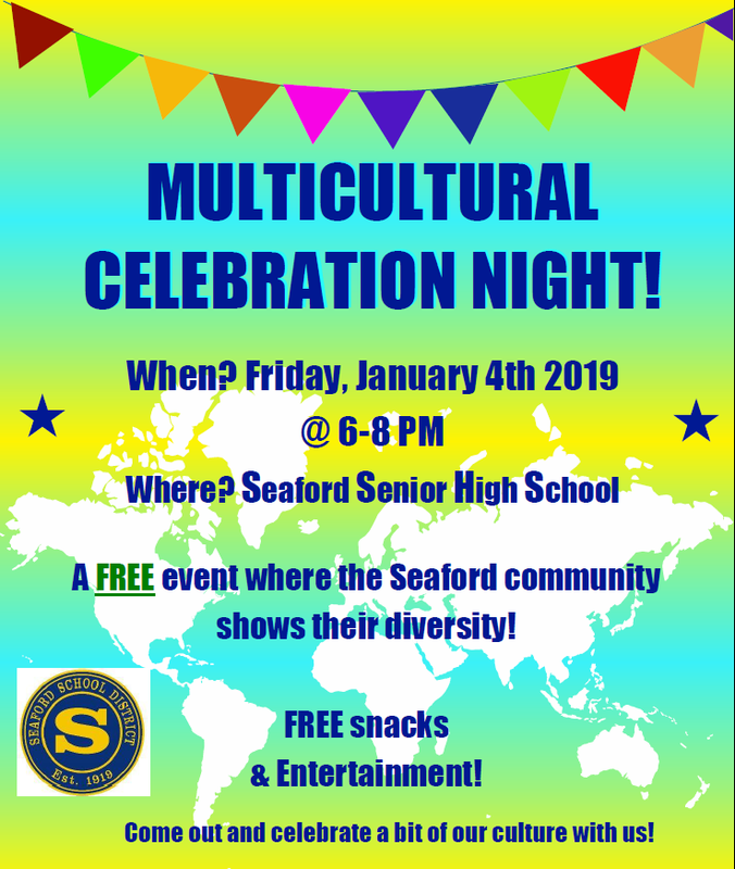 Multicultural Celebration Scheduled for January 4, 2019 Featured Photo