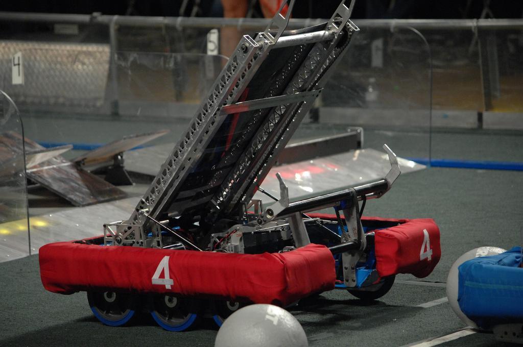 Robot pre-match