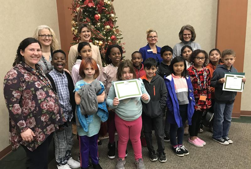 The two schools were recognized for tree fundraisers