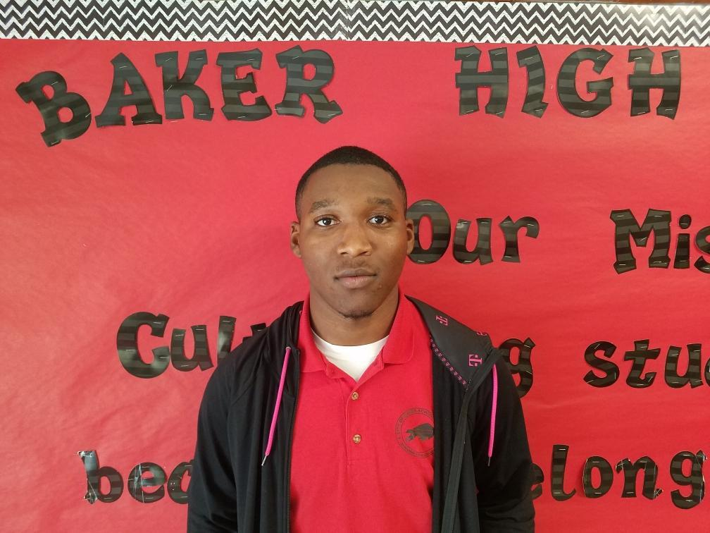 Photo of BHS Senior who will participate in the 3rd Annual NAACP Louisiana High School Senior Bowl Football Game
