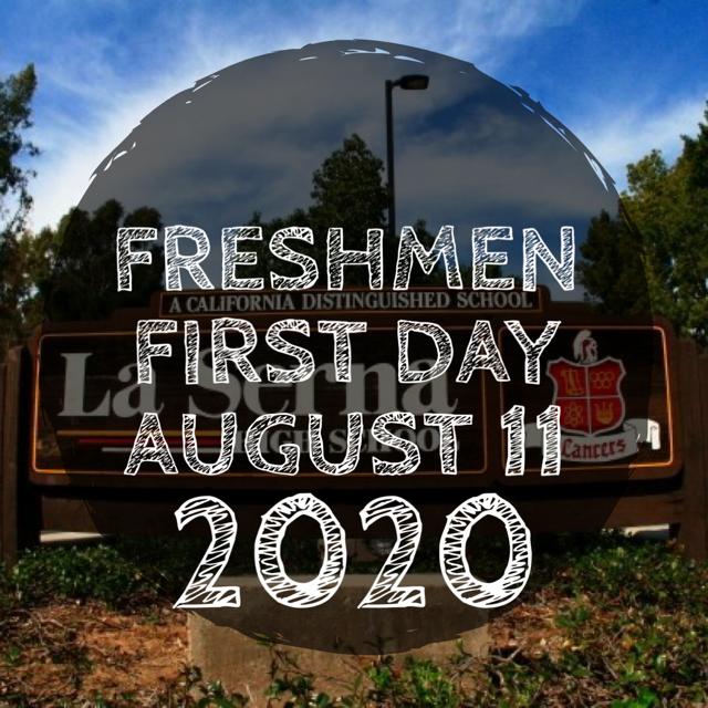 Freshmen First Day