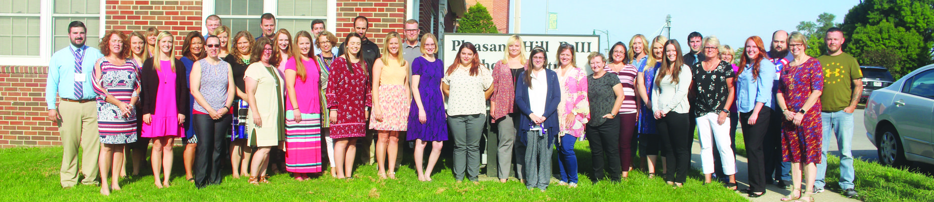 District welcomes new staff
