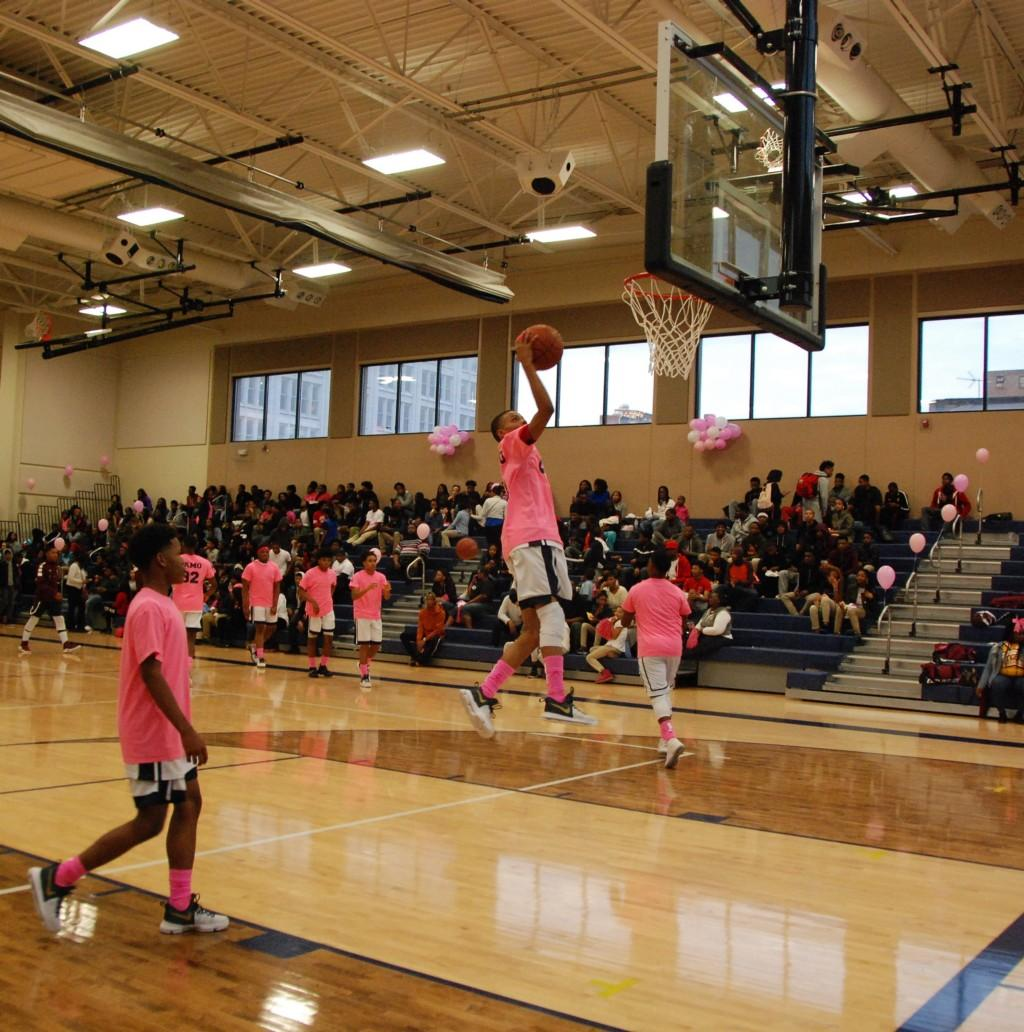 CPA Pink Out Game 2017