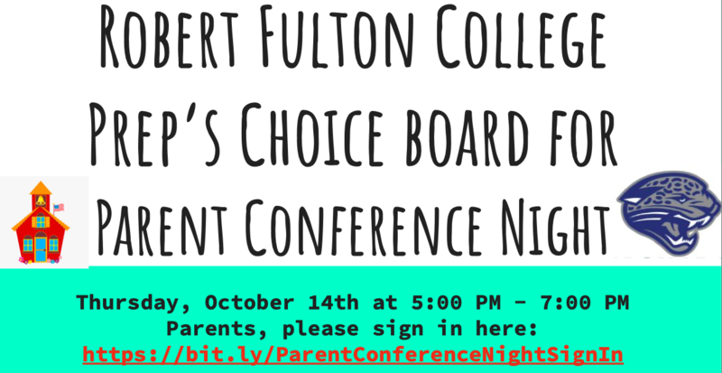 Parent Conference Night -  IS NOW!  See you there Featured Photo