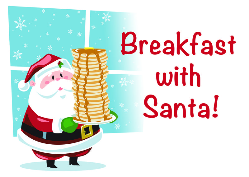 Breakfast with Santa December 8th Featured Photo