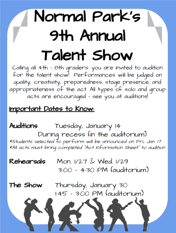 9th Annual Normal Park Talent Show Featured Photo