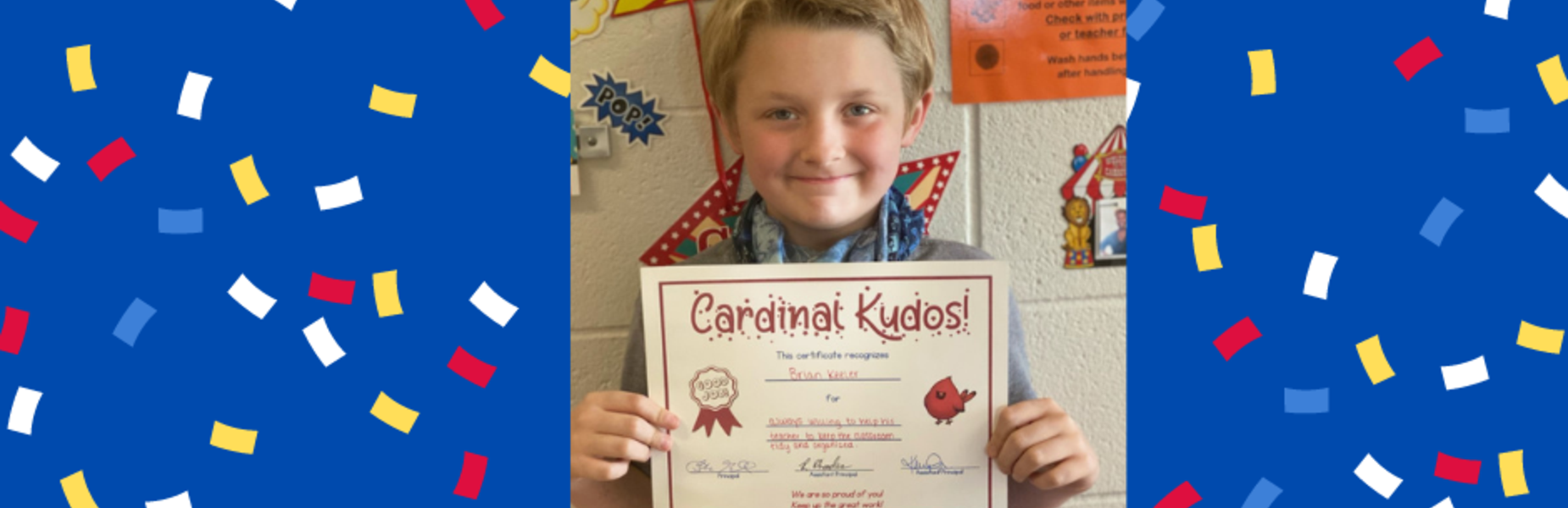 Cardinal Kudos