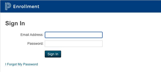 Enrollment powerschool page