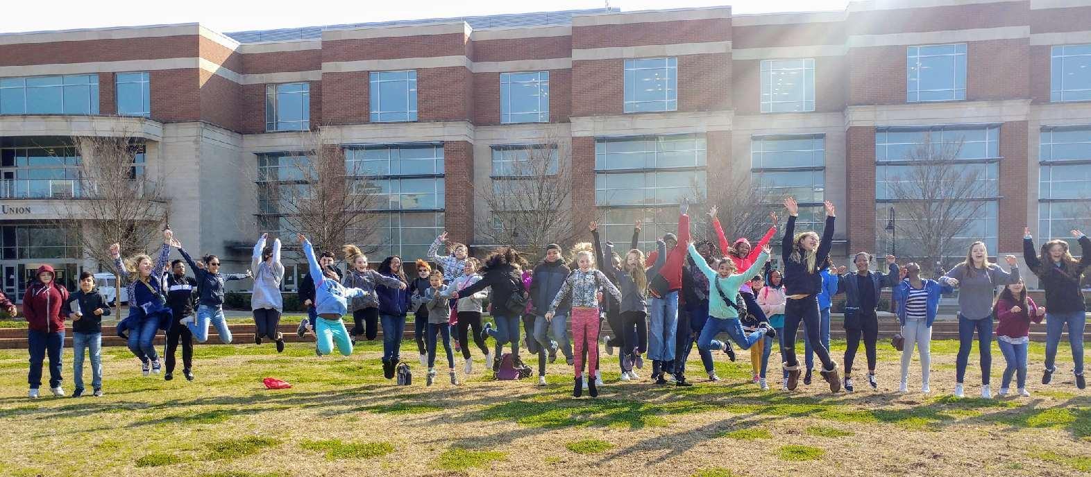 Students at SE-YA book fest