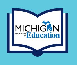 Michigan Department of Education Literacy Development Logo
