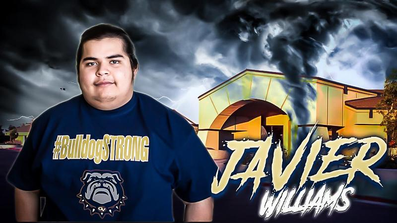 #BulldogSTRONG STUDENT SPOTLIGHT: Javier Williams Thumbnail Image