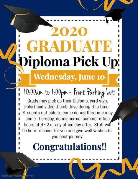 Class of 2020 Diploma Pick Up Featured Photo