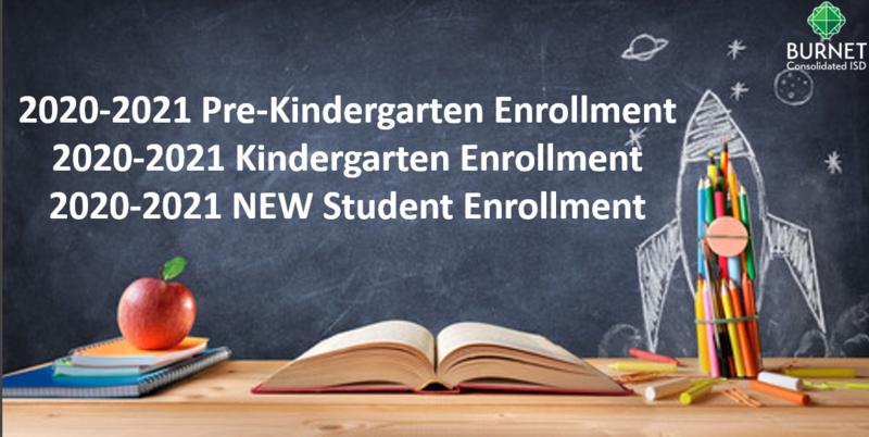 New to Burnet CISD - New Student Enrollment Information Thumbnail Image