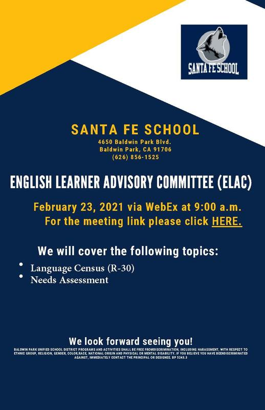 ELAC Meeting 🏫 2.23.21 Featured Photo
